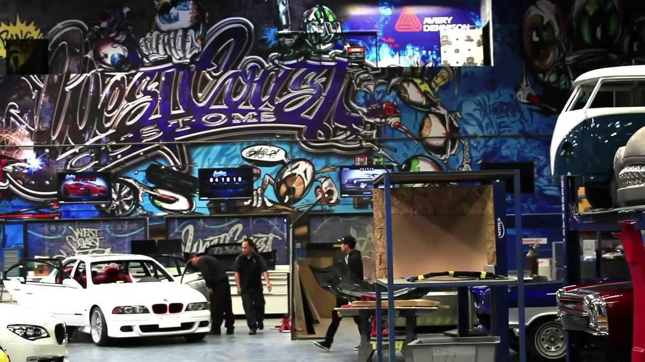 West Coast Customs Chooses 3m For Production And