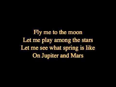 Frank Sinatra- fly me to the moon with lyrics