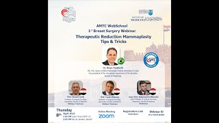 Therapeutic mammoplasty. Alexandria -  Egypt 2021