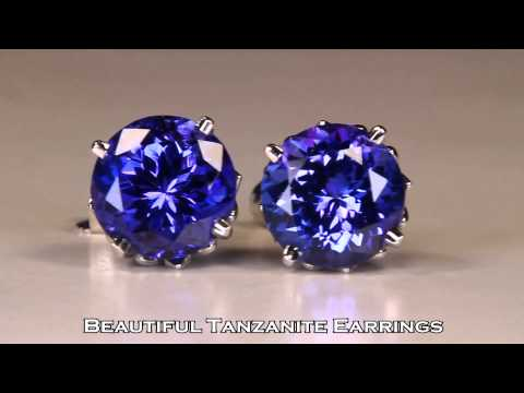 Tanzanite Jewelry Designs And Gemstones
