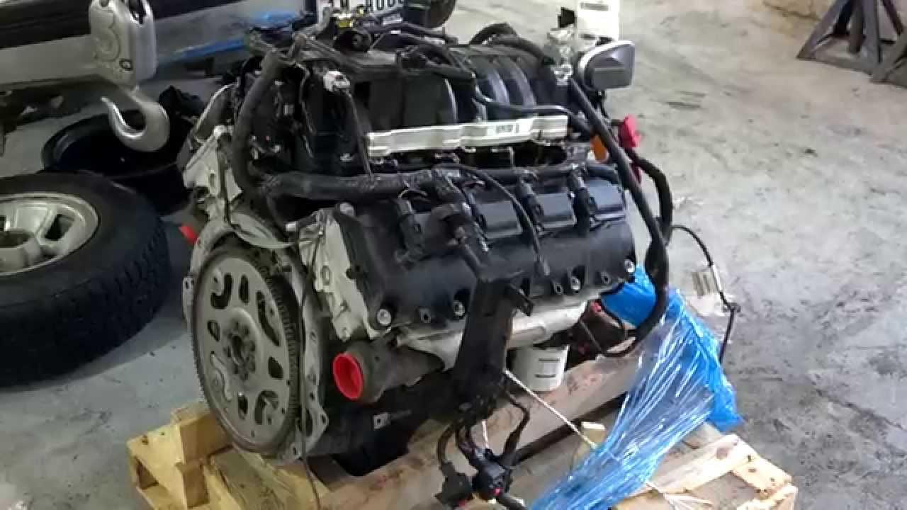 New (used) 2009 Dodge Durango 57L Engine  YouTube