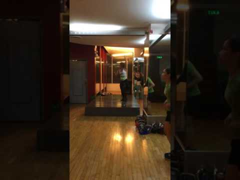 Zumba® with Marites Pieper - Las Mamies (Merengue) @ Golds Gym Gloriettta Philippines