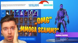 MMOGA SCAMMT me with 1000€ FORTNITE ACCOUNT with OG SKINS?