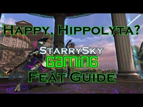 DCUO Happy, Hippolyta? Feat Guide