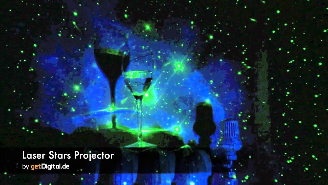Laser Stars Projektor Getdigital De Youtube