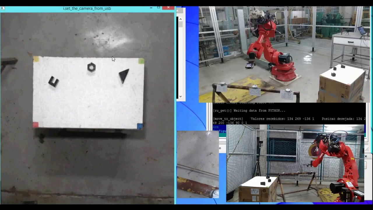 Implementation of a Computer Vision System on an Industrial Robotic Arm (WITHOUT CUTS)