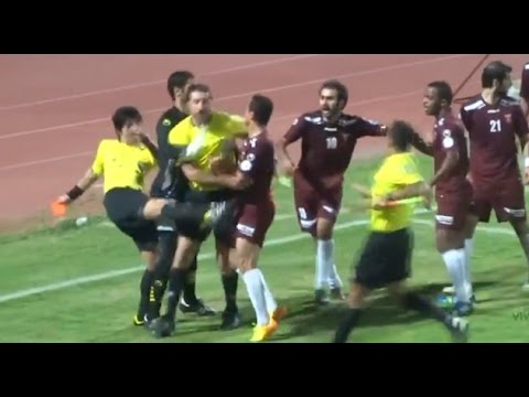 FootballSoccer Funniest Referee Fails! Fights, Punches and More!