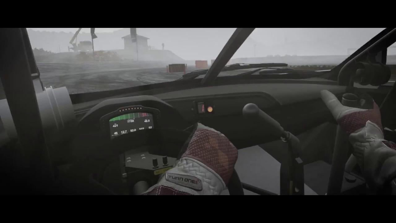 Grc Civic >> Project CARS 2: Driver Eye - Civic GRC @ Dirt Fish - VR Gameplay (B723) - YouTube