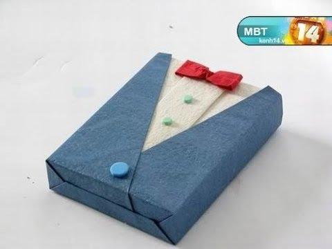 Как красиво упаковать в подарок футболку