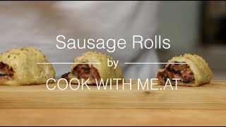 Sausage Rolls - Baked On The Big Green Egg - Cook With Me.at