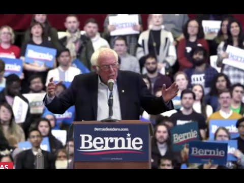 THE ESTABLISHMENT IS GETTING NERVOUS: BERNIE RALLIES IN DALLAS