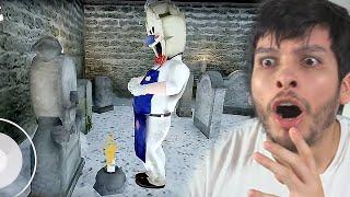 EL HELADERO HABLA CON SU PADRE EN EL CEMENTERIO !! SECRETO - Ice Scream 2 (Horror Game)