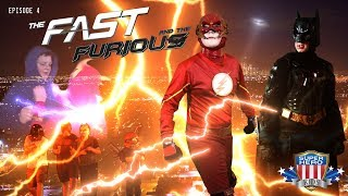 """The Flash Teams Up with Batman! SuperHeroKids Episode 4 - """"The Fast and the Furious"""""""