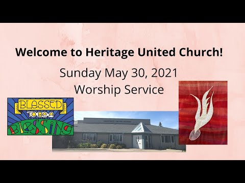 Worship Service - May 30, 2021