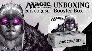 Unboxing: M15 Booster Box With Brad Nelson [magic: The Gathering]
