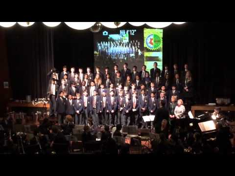 Queen Mary's grammar school spring concert tears in heaven