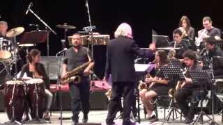 """""""MEGA BIG BAND """" - BIG BAND BOSSA NOVA ( Quincy Jones ) ANFITEATRO PARQUE CENTENARIO 12/4/215"""
