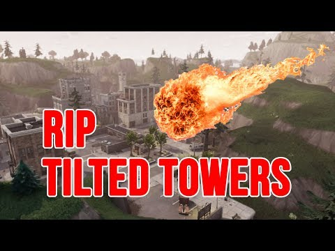 ITS GETTING CLOSER... RIP Tilted Towers! LIVE STREAM (Fortnite Battle Royale)