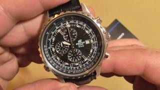 casio EDIFICE EF-527L-1AVEF просто отличные часы