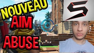 THE NEW MOD AIM ABUSE!!! TUTO and TEST Strike Pack Fortnite ps4