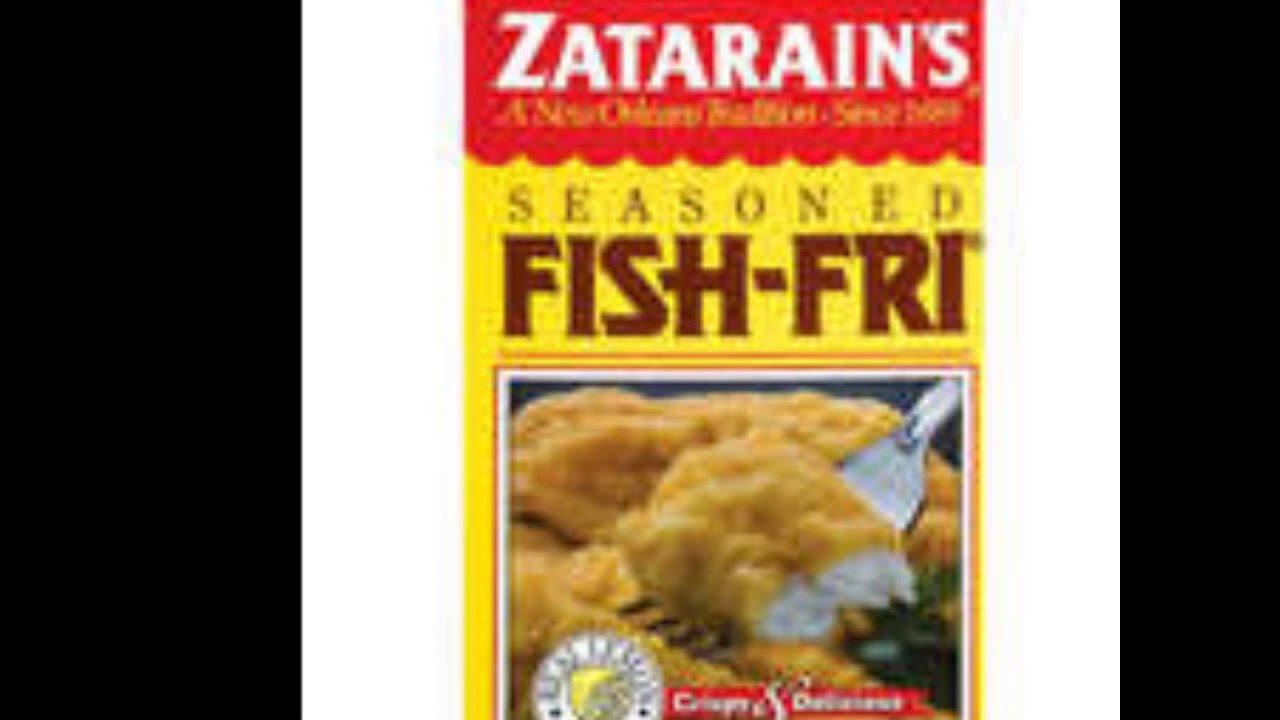 Green shopping market zatarains seasoned fish fry mix for How to make fish fry batter