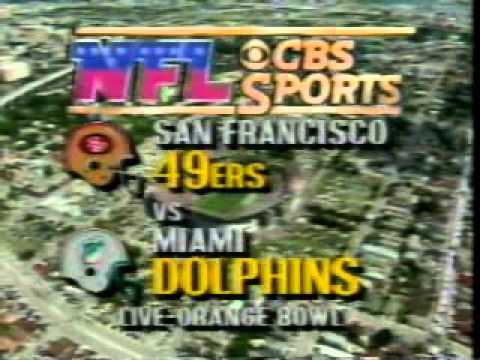 CBS Football Intro - September 1986