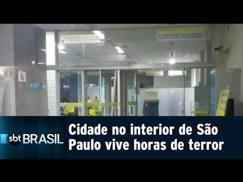 Cidade no interior paulista vive horas de terror nesta quinta-feira (09) | SBT Brasil (09/08/18)