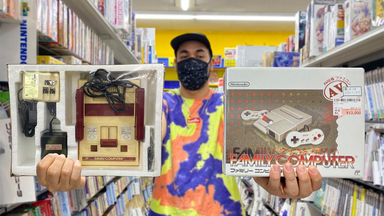 BUSCANDO LA FAMICOM (NINTENDO) EN JAPÓN | PRECIOS EN TIENDAS | VIDEOJUEGOS | NES TOP LOADER