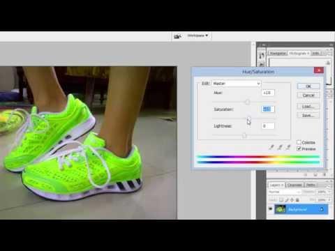 Cara Mengedit warna foto produk untuk toko online menggunakan photoshop