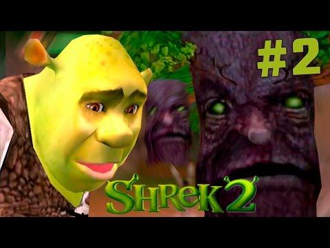 Shrek 2 The Game #2 СТРАШНЫЙ ЛЕС! - прохождение на русском