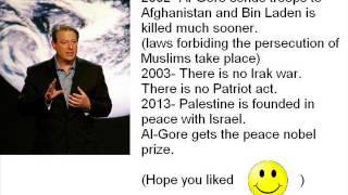 """Alternate History: """"President Al-Gore"""""""