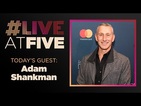 Broadway.com #LiveAtFive With Adam Shankman Director Of WHAT MEN WANT And HAIRSPRAY