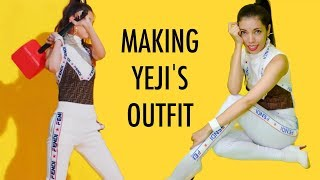 MAKING ITZY YEJI'S OUTFIT (AND DANCING?)