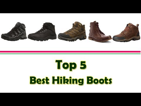 4c06d9ba6df Top 5 Best Hiking Boots | Best Selling Hiking Boots 2017 - YouTube