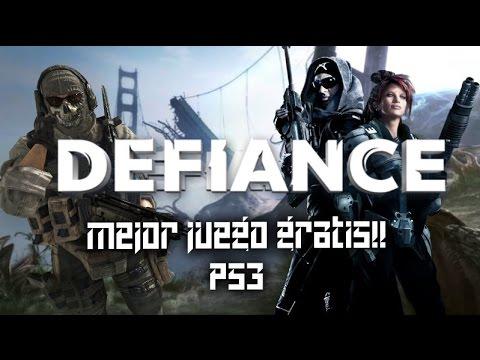 Mejor juego gratis en ps3 / Defiance