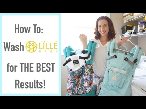 How To: Wash Líllébaby and All Soft Structured Carriers for THE BEST Results! [CC]