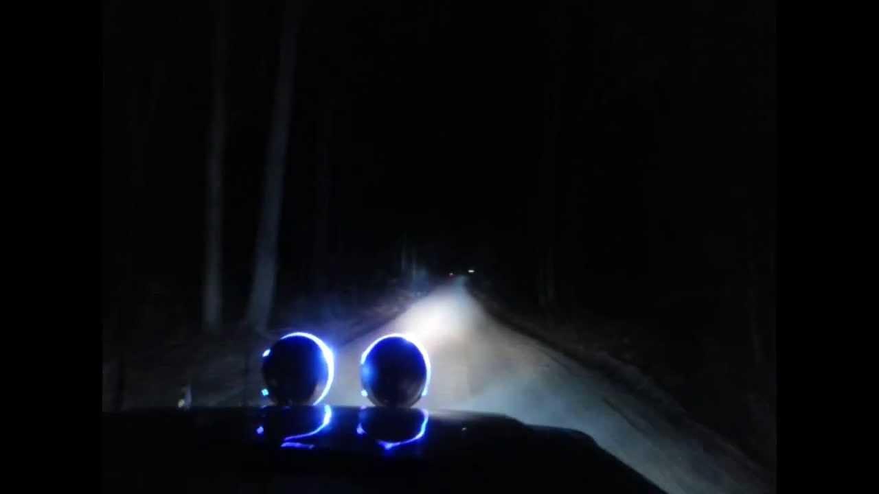 100watt Hid Driving Spotlight 4x4 Upgrade On Gq Nissan