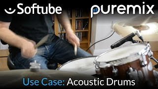 Mixing Acoustic Drums With Softube Plugins