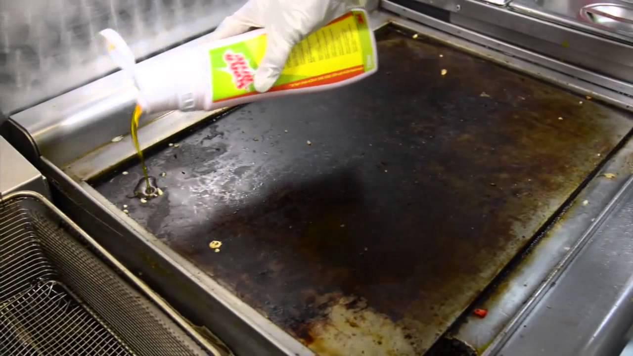 Limpia planchas alta calidad imagen 3m youtube - Limpiar plancha cocina ...