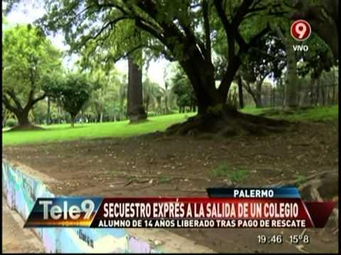 Secuestro express en Palermo.