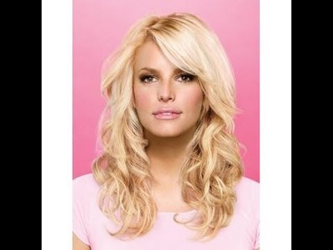 Jessica Simpson Inspired Bangs Tutorial