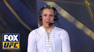 TUF winner Macy Chiasson speaks after victory | INTERVIEW | TUF FINALE