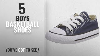 Top 10 Boys Basketball Shoes [2018]: Converse Infants's CONVERSE INFANTS CHUCK TAYLOR A/S OXFORD