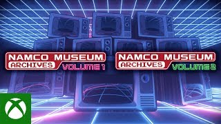 Namco Museum Archives - Launch Trailer