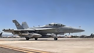 EA-18G Growlers At Red Flag Nellis • Day & Night Operations