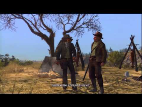 Red Dead Redemption Stranger Mission - Remember My Family and Credits [ Final Mission ]