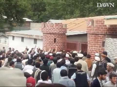 Chitral man attacked by mob for alleged blasphemous remarks.