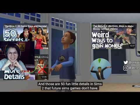 The Sims 3 ve 4'te Olmayan Detayları İnceliyoruz! - The Sims 2