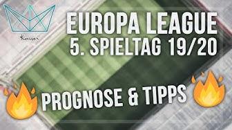 Europa League Tipps - 5. Spieltag der Saison 2019/2020 | Meine Wett-Empfehlungen (Sportwetten Tipps)