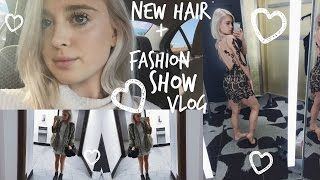 NEW HAIR + FASHION SHOW VLOG ♡ Brianna Joy